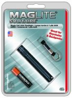 MagLite - Solitaire Flashlight Black Hanging Pack