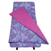 Olive Kids Watercolor Ponies Purple Nap Mat