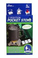 Bleuet Pocket Stove w/ 6 fuel cubes