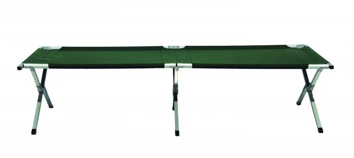 Texsport King Kat Giant Folding Camp Cot, Forest Green, 350 lb. Wt.
