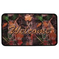 "Rivers Edge Products 18""x30"" Door Mat-welcome CB Camo"