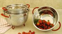 Cookpro 3 Pc Heavy Duty Stainless Colander Set