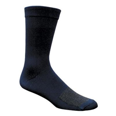 Fox River X-Static Xpanse Wick Dry Travel Sock, Black L 9-12