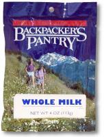 Backpacker's Pantry Whole Milk
