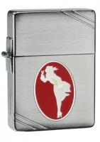Zippo 1935 Brushed Chrome, Windy, 2013 Collectible of the Year,