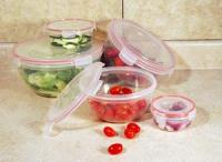 Cookpro 10 PC Lock & Seal Storage Container Set - Round