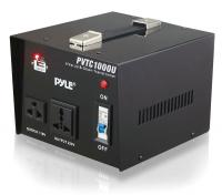 Pyle Step Up and Step Down 1000 Watt Voltage Converter Transformer with USB Charging Port - AC 110/220 V (PVTC1000U)