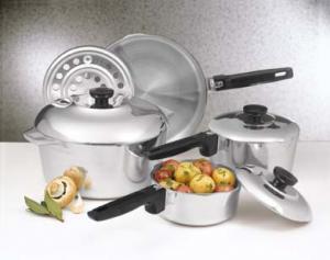 Magnalite Classic Cast Aluminum 8-pc Cookware Set