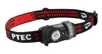 Princeton Tec Byte Headlamp, Black Body, 1 White, 1 Red LED