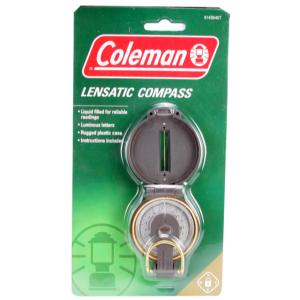Coleman Lensatic Compass, Luminous Letter, Liquid Filled