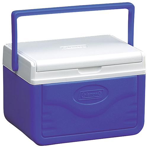 Coleman Personal Poly Lite Cooler, Holds 6 x 12oz Cans & Ice, Blue