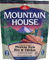 Mountain House Mexican Chicken & Rice