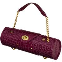 Picnic at Ascot Wine Carrier & Purse, Purple