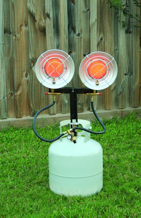 Texsport Deluxe Double Propane Heater