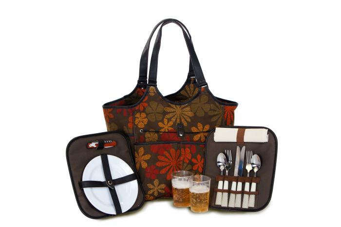 Picnic Plus Palmetto Two Person Picnic Tote - Tapestry