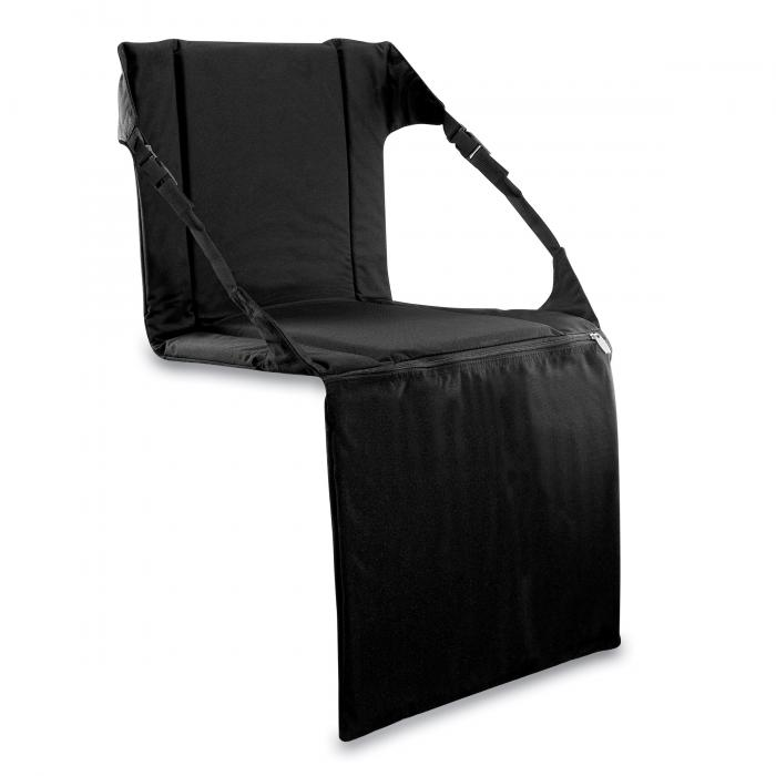 Picnic Time Padded Stadium Seat, Black