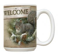 Fiddler's Elbow Welcome to the Nut House Mug