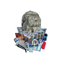 Wise Foods 2 Week Essential Survival Backpack - Camo