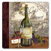 Counter Art Reserve Vintage Hardboard Coasters Set of 4