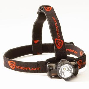 Streamlight Enduro White LED Headlamp with Black Body and Elastic Strap