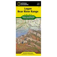 National Geographic: Logan Bear River Range #713