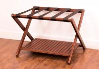 Merry Products Folding Luggage Rack