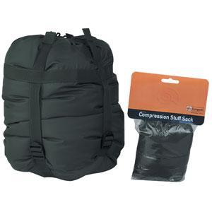 SnugPak Compression Stuff Sacks, Black, Large
