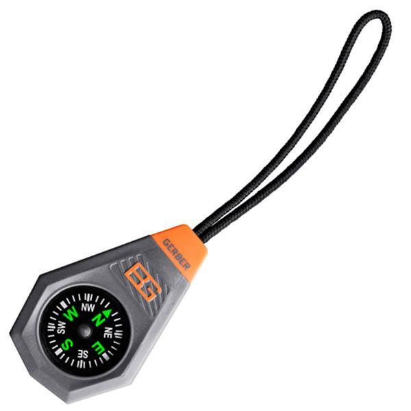 Gerber Bear Grylls Compact Compass w/ Zipper Pull