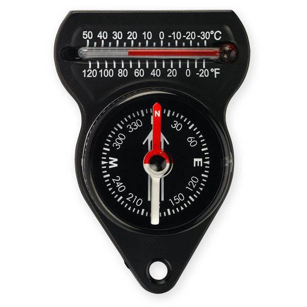 NDuR Mini Compass W/Thermometer