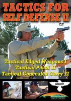 Stoney-Wolf Tactics for Self Defense 2 (Triple Feature) DVD - Gun Site Academy