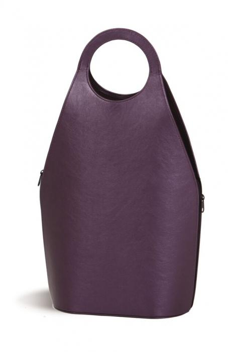 Picnic Plus Soleil Wine Tote,Purple Shimmer