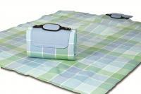 """Mega Mat Folded Picnic Blanket with Shoulder Strap - 48"""" x 60""""  (Ocean Mist)"""