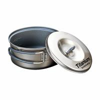Evernew Titanium Nonstick Pot Set Small