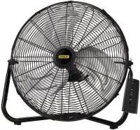 "Lasko Stanley Remote Control 20"" High Velocity Floor Fan w/Quickmount"