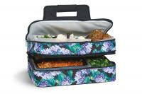 Picnic Plus Entertainer Hot & Cold Food Carrier - Hydrangea