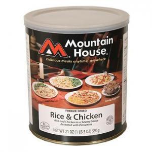 Freeze Dried Food by Mountain House