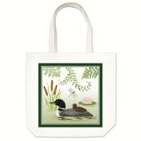 Alice's Cottage Loon Large Tote