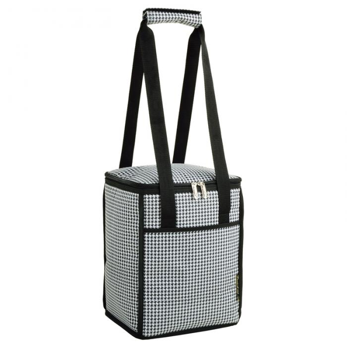 Picnic at Ascot 24 Can Collapsible Cooler - Houndstooth