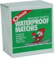 Coghlans Waterproof Matches, 10 Boxes