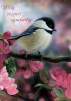 Tree Free Greetings Chickadee Peace and Comfort Sympathy