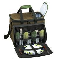 Picnic at Ascot Eco Picnic Cooler for Four (Green)
