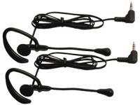 Midland AVP1 Accessory Earbud Speaker Mics (2-pk) For Mdlg225 & Mdlg227