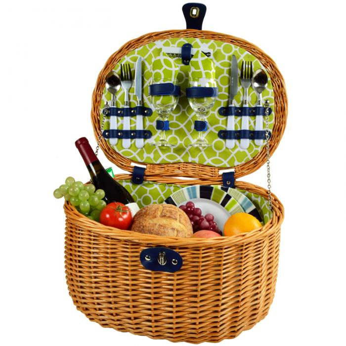 Best Picnic Basket For 2 : Picnic at ascot ramble basket for trellis green