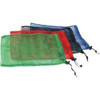 "Equinox Nylon Mesh Stuff Bag 7"" X 10"" Red"