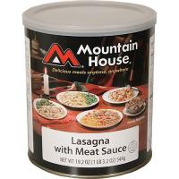 Mountain House Lasagna with Meat Sauce - 10 One Cup Servings