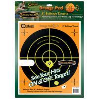 "Caldwell Orange Peel 8"" bulls-eye: 100 sheets"