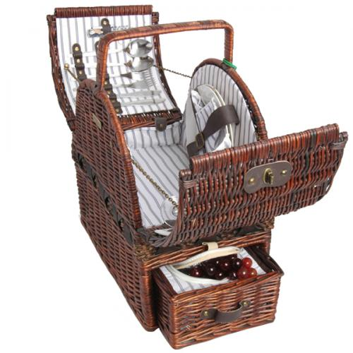 Best Picnic Basket For 2 : Picnic beyond willow basket for