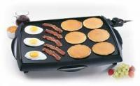 Presto Tilt 'n Drain BigGriddle Cool Touch Electric Griddle