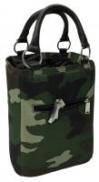 Picnic Gift - Bitchin Beer Bag - Camo insulated 6 bottle beverage tote