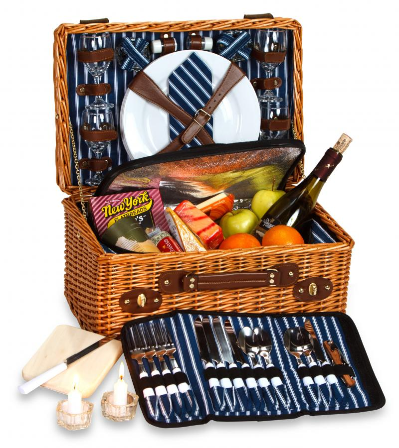 Picnic Plus Wynberrie Picnic Basket For 4